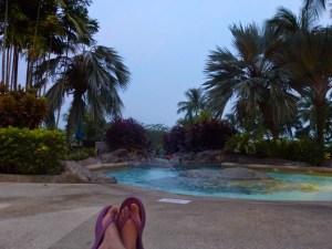 poolside in Langkawi Malaysia