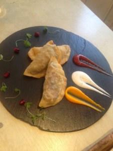 Gutab three ways - filled pastries