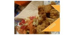 Aloo gobi - potato and cauliflower curry