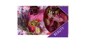 Dried roses and pot pourri
