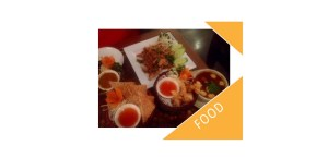 Thai tom yam soup and prawn toast at Kinakao Thai Brick Lane