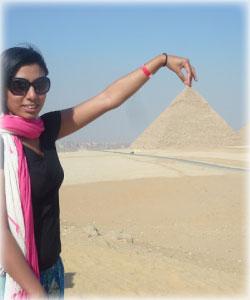 Halima Khatun in Egypt - HalimaBobs