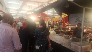 HalimaBobs at the Truman Brewery World Food Market