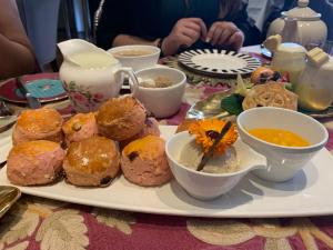 Scones and cream at Afternoon tea