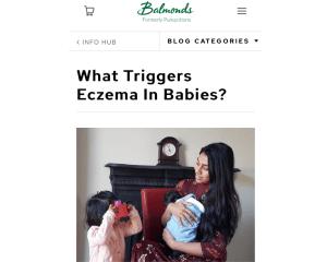 HalimaBobs givea eczema advice to Balmonds