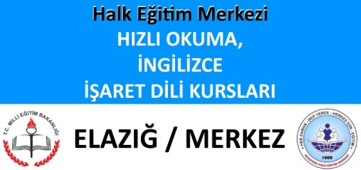 elazig-merkez-halk-egitim-merkezi-hizli-okuma-isaret-dili-ingilizce-kurslari