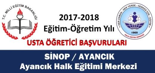 sinop-ayancik-halk-egitimi-merkezi-usta-ogretici-basvurulari-2017-2018