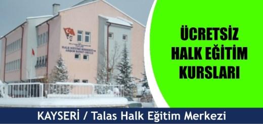 Kayseri-Talas-ücretsiz-halk-eğitim-merkezi-kursları