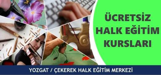 YOZGAT-ÇEKEREK-Halk-Eğitim-Merkezi-Kursları