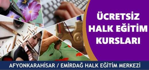 AFYONKARAHİSAR-EMİRDAĞ-Halk-Eğitim-Merkezi-Kursları