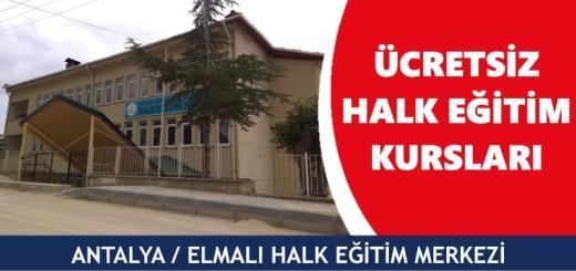 ANTALYA-ELMALI-Halk-Eğitim-Merkezi-Kursları
