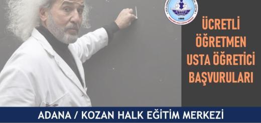 ADANA-KOZAN-Halk-Eğitim-Merkezi-Ücretli-Öğretmen-Usta-Öğretici-Başvuruları