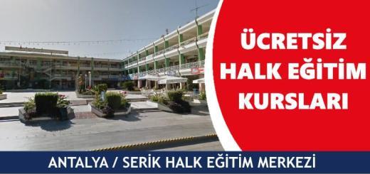 ANTALYA-SERİK-Halk-Eğitim-Merkezi-Kursları