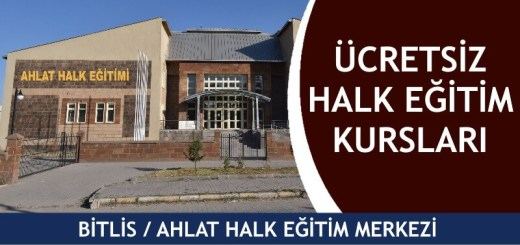 BİTLİS-AHLAT-Halk-Eğitim-Merkezi-Kursları