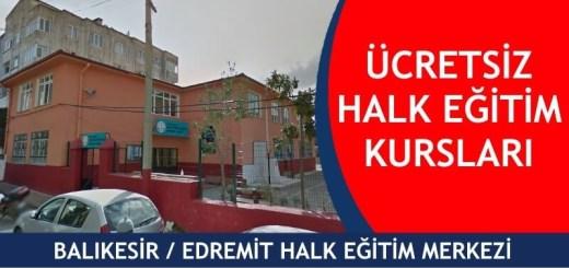 BALIKESİR-EDREMİT-ücretsiz-halk-eğitim-merkezi-kursları