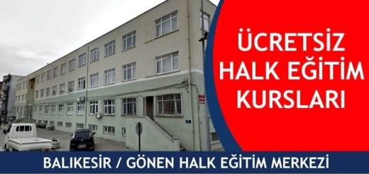 BALIKESİR-GÖNEN-ücretsiz-halk-eğitim-merkezi-kursları