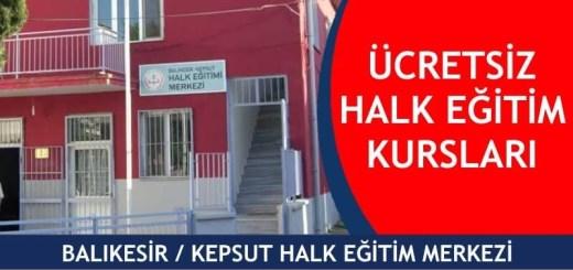 BALIKESİR-KEPSUT-ücretsiz-halk-eğitim-merkezi-kursları