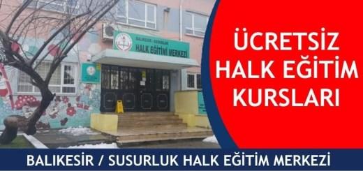 BALIKESİR-SUSURLUK-ücretsiz-halk-eğitim-merkezi-kursları