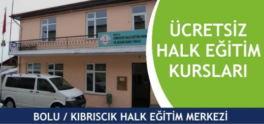 BOLU-KIBRISCIK-Halk-Eğitim-Merkezi-Kursları