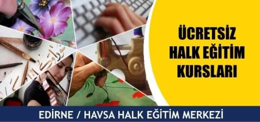 Edirne-Havsa-ücretsiz-halk-eğitim-merkezi-kursları