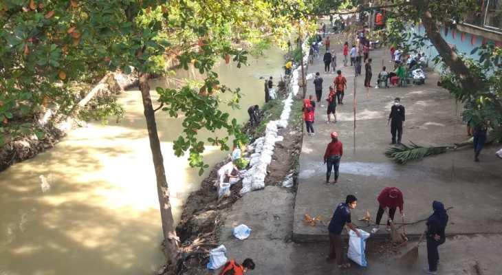 Hari Peduli Sampah Nasional. Sungai Babura di Bersihkan Komunitas, 1 Ton Sampah Terkumpul