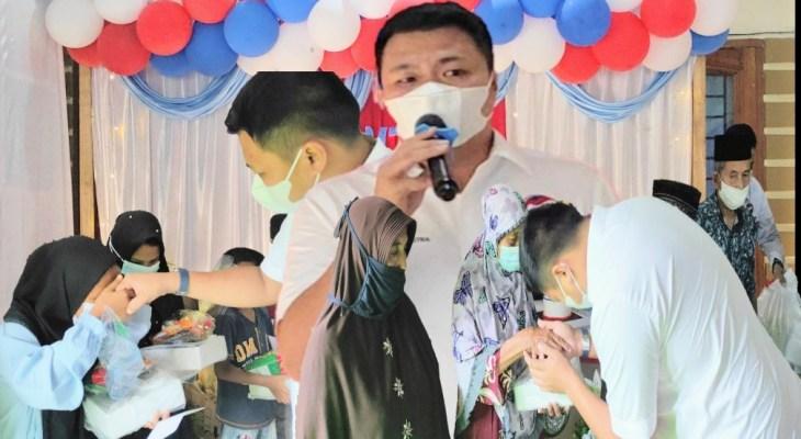 Bersama Yatim Piatu dan Lansia Partai Perindo Langkat Peringati HUT Ke-6 Partai Perindo Sumut