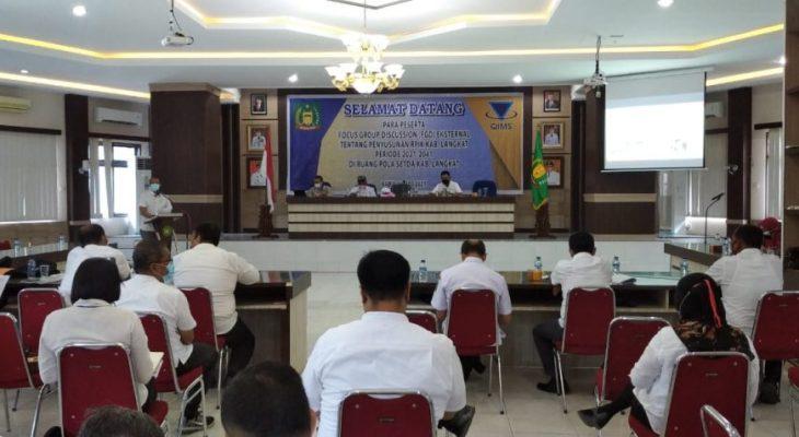 Rencana Pembangunan Industri Kabupaten  Langkat di FGD-kan