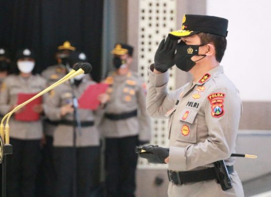 Kapolrestabes Surabaya Dimutasi Menjadi Wakapolda Sulut