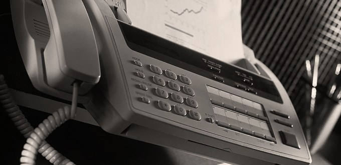 Fax Machines - out of date and insecure