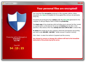 Ransomware: Don't panic – deal with it