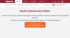 Equifax - Needed good threat hunting