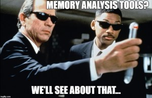 Memory analysis tools help fight forgetfulness...