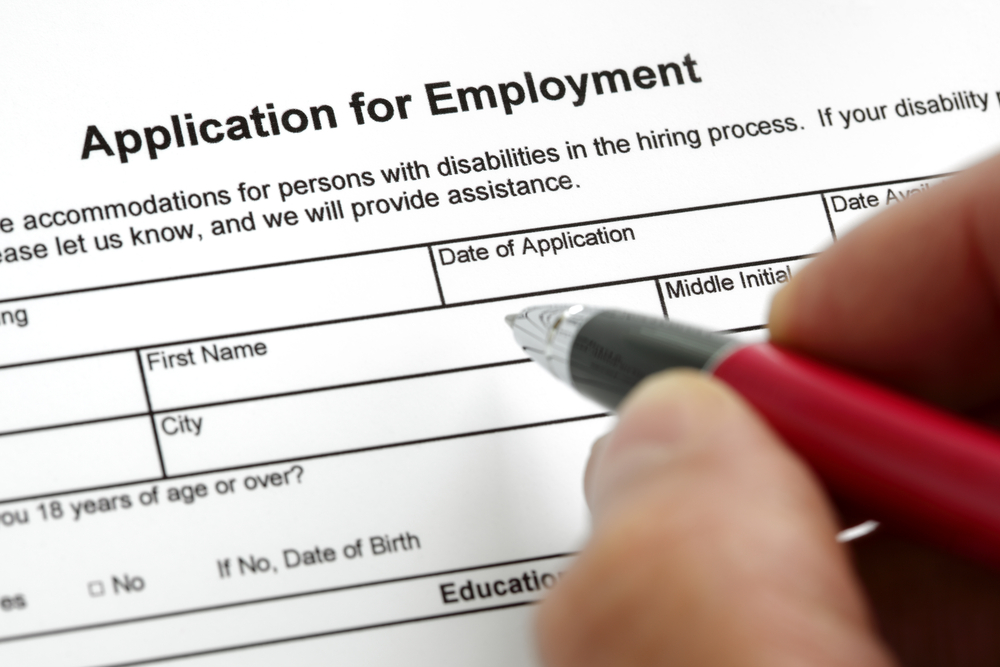 tips for completing job applications