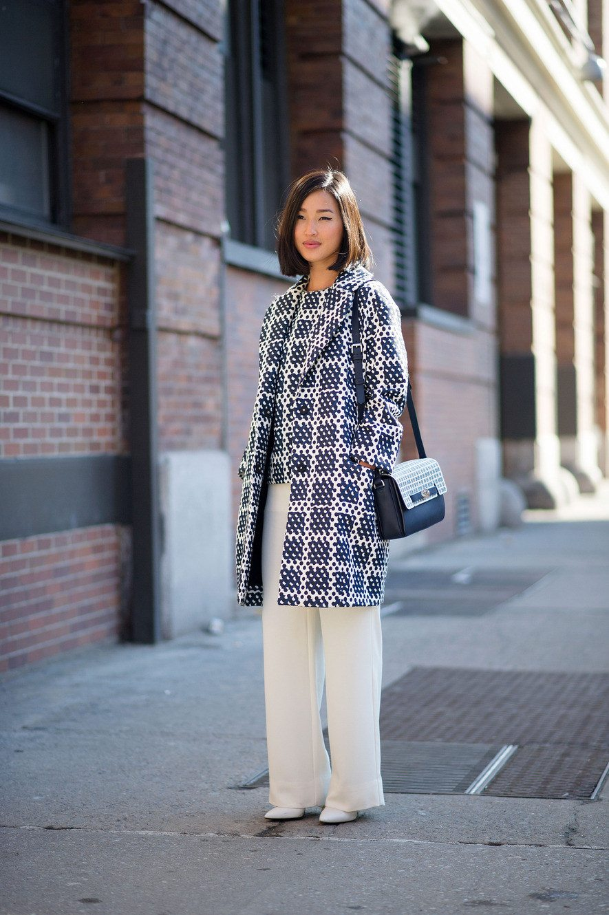 Outfit Inspiration NYFW Street Style  I  Hallie Daily