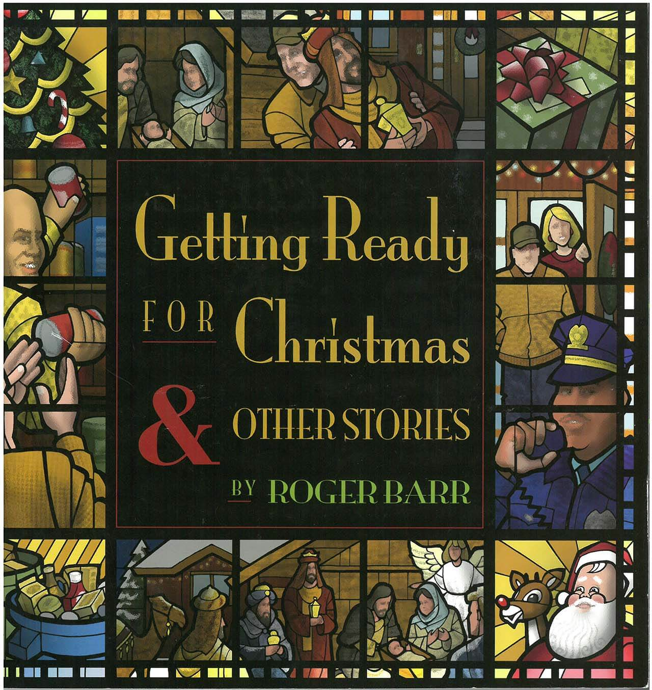 """Rodger Barr reading of """"Anticipating Christmas"""" Thursday, December 15th"""