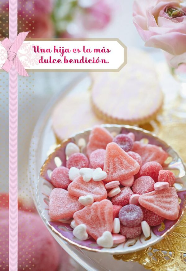 Sweet Blessing Spanish Language Religious Birthday Card