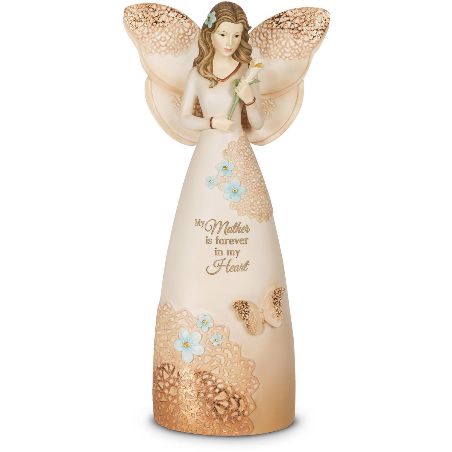 Light Your Way Memorial Mother Angel Figurine Figurines