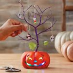 Mini Halloween Ornament Tree With Light Keepsake Ornaments Hallmark