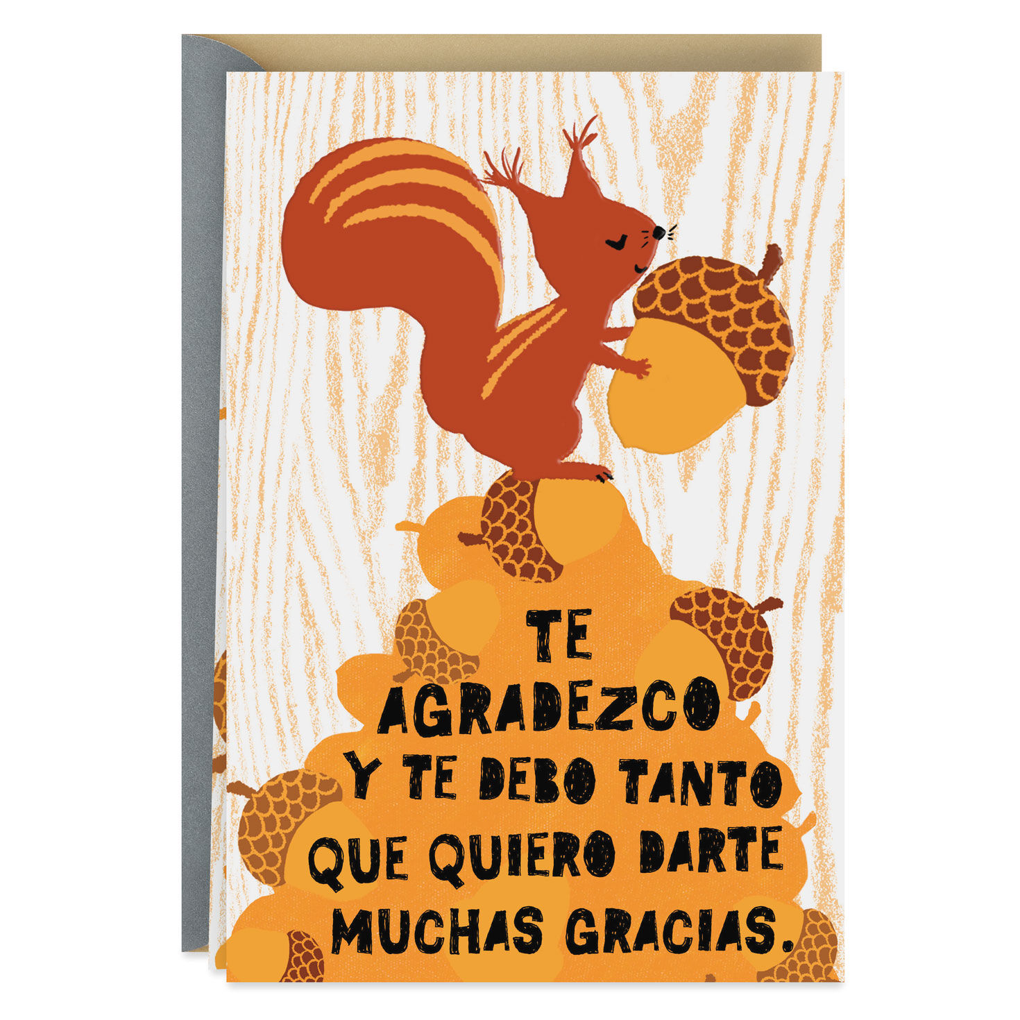 squirrel with nuts spanish
