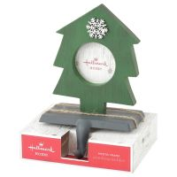 Christmas Tree Photo Frame Stocking Holder - Picture ...