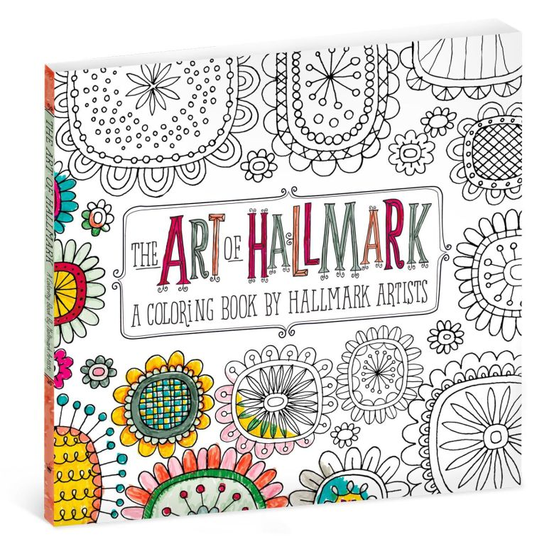 the art of hallmark coloring book for adults - coloring books