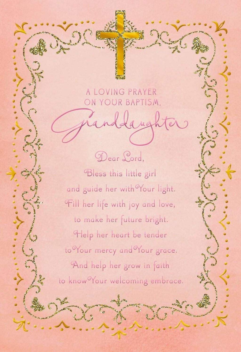 What To Write In A Baptism Card Religious Billingss