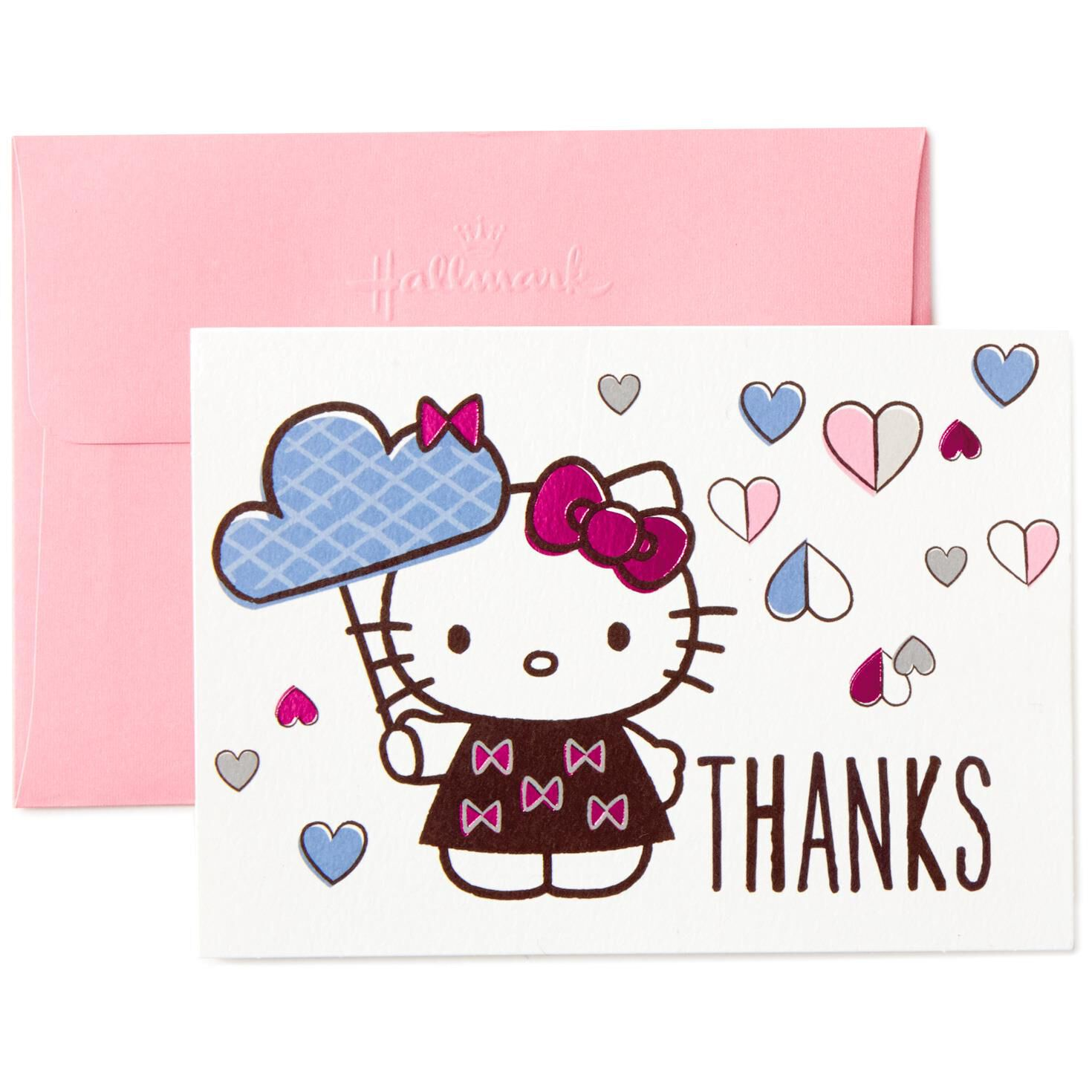 hello kitty raining hearts