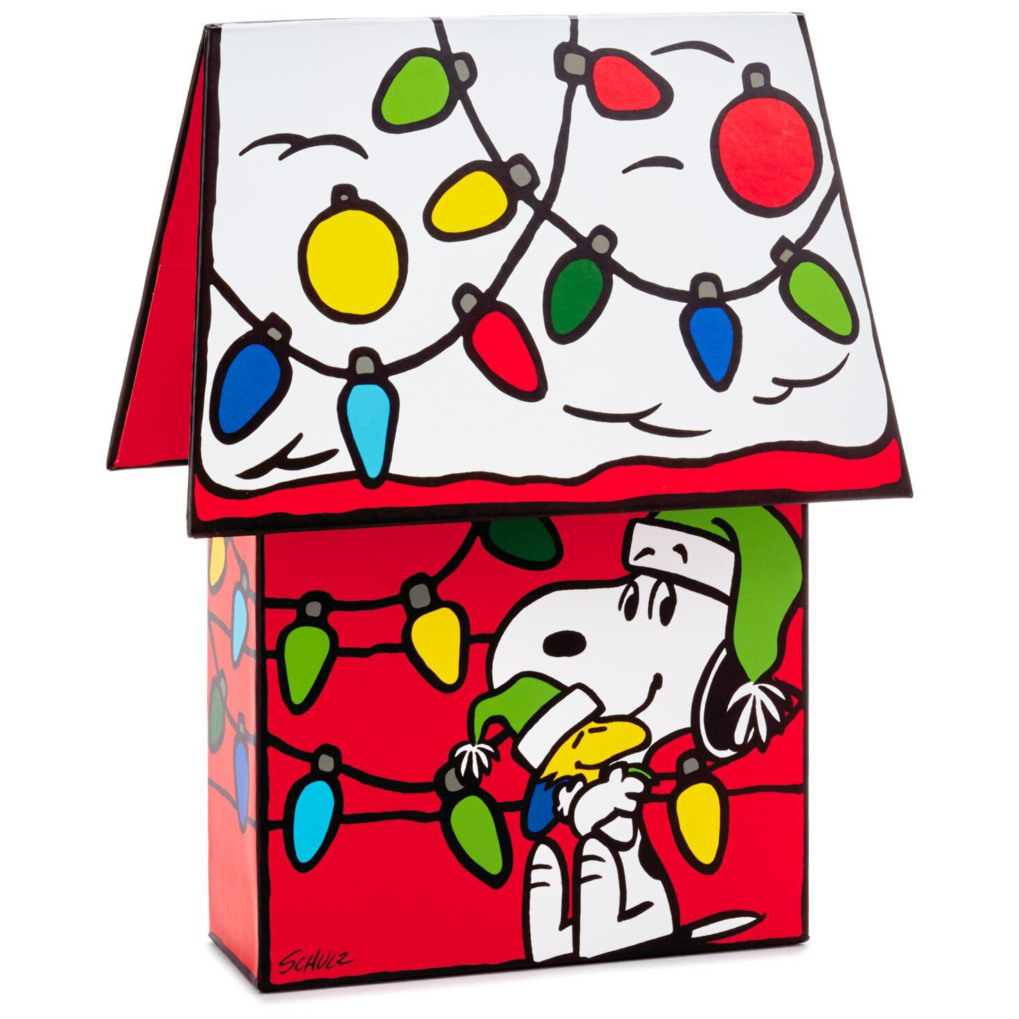 Snoopy Christmas Cards Christmas Lights Card And Decore