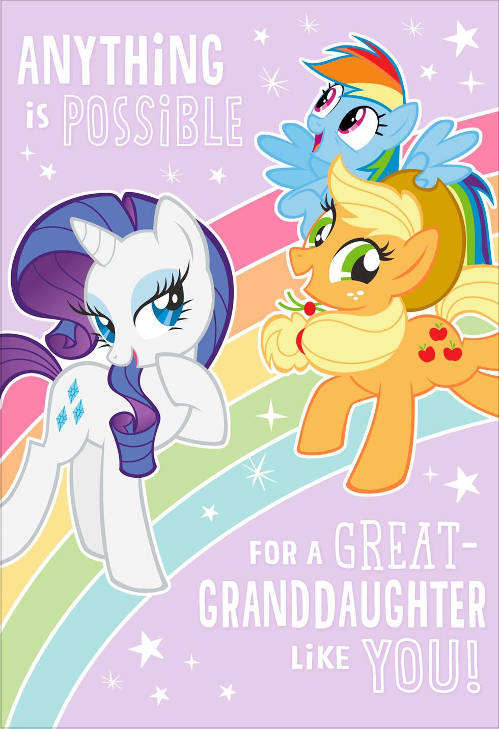 Hasbro® My Little Pony® Birthday Card For Great