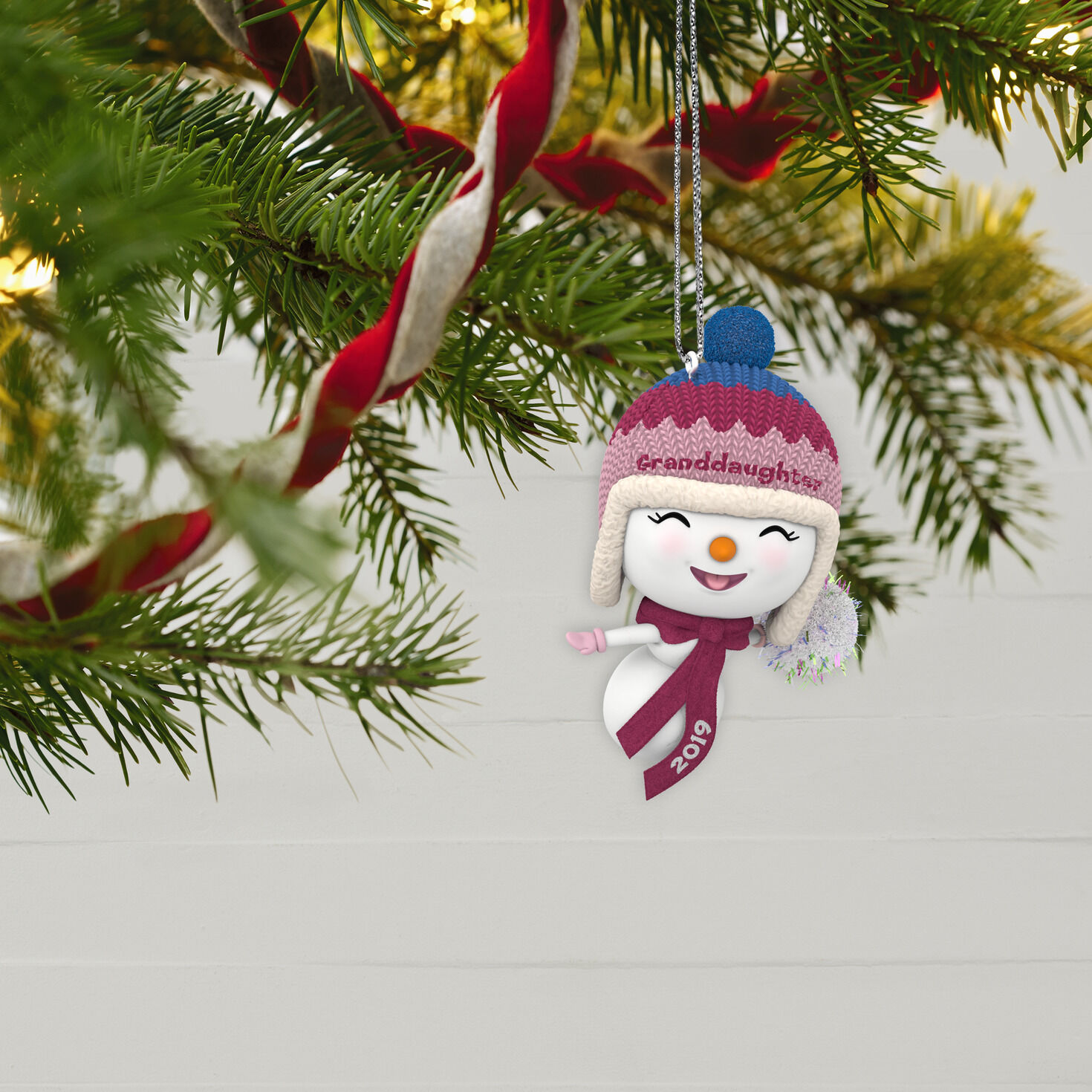 Granddaughter First Christmas Ornament