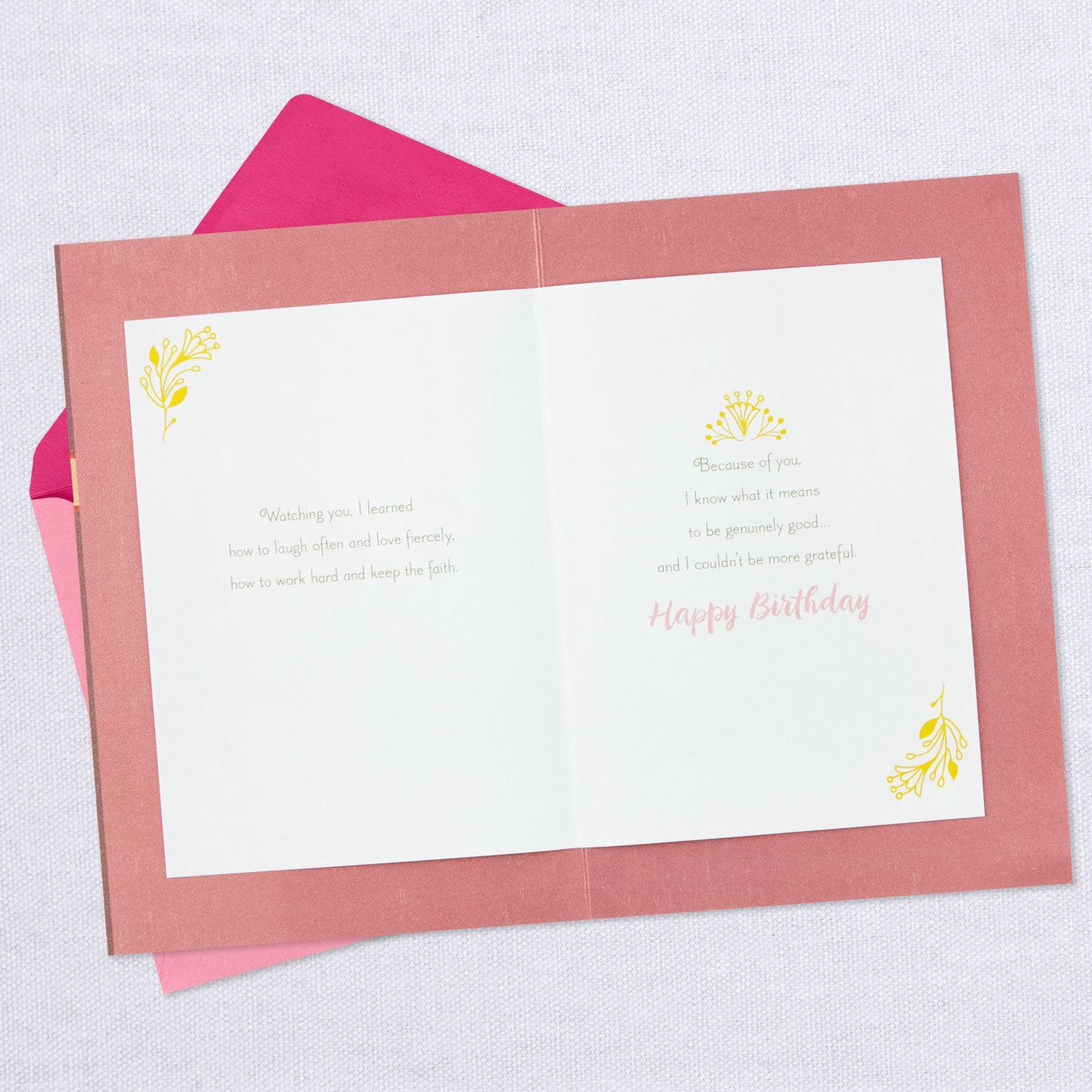 mommy birthday card happy birthday mom
