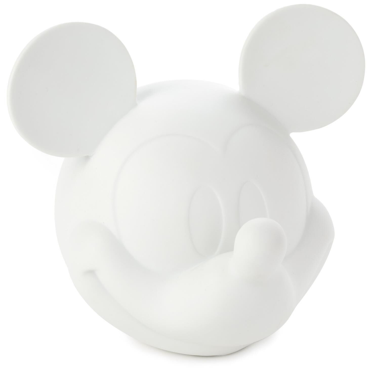 mickey mouse table and chairs australia lazy boy chair a half porcelain night light decorative accessories hallmark