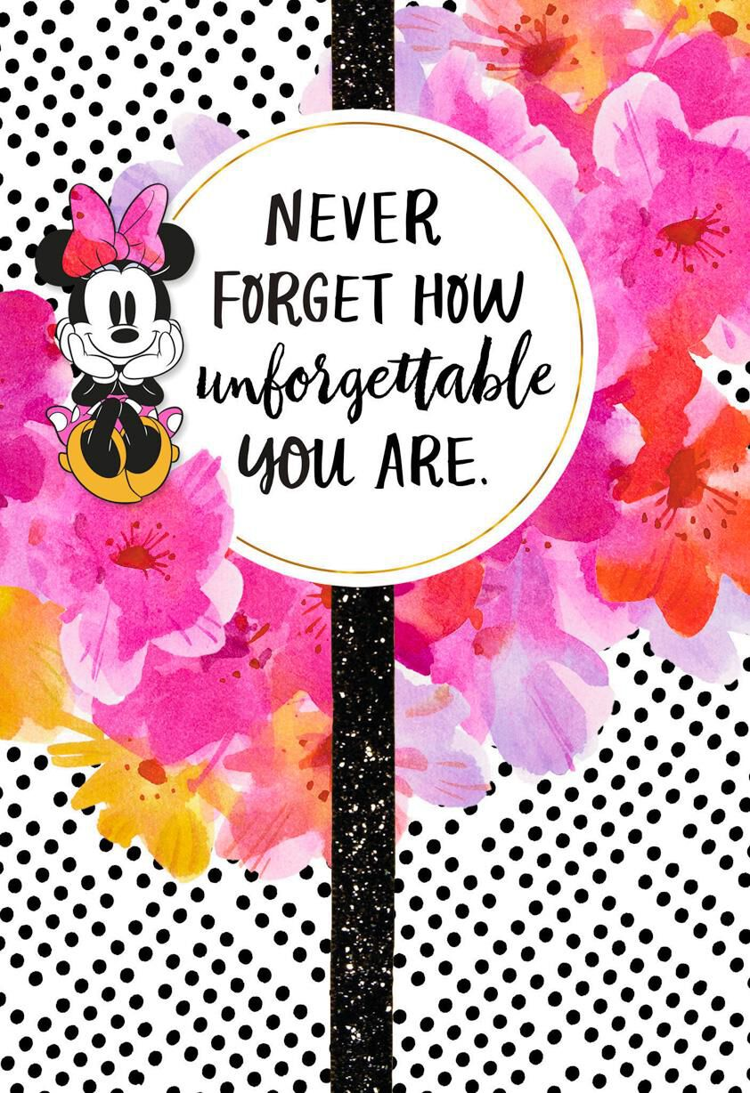 Disney Minnie Mouse Unforgettable Birthday Card For