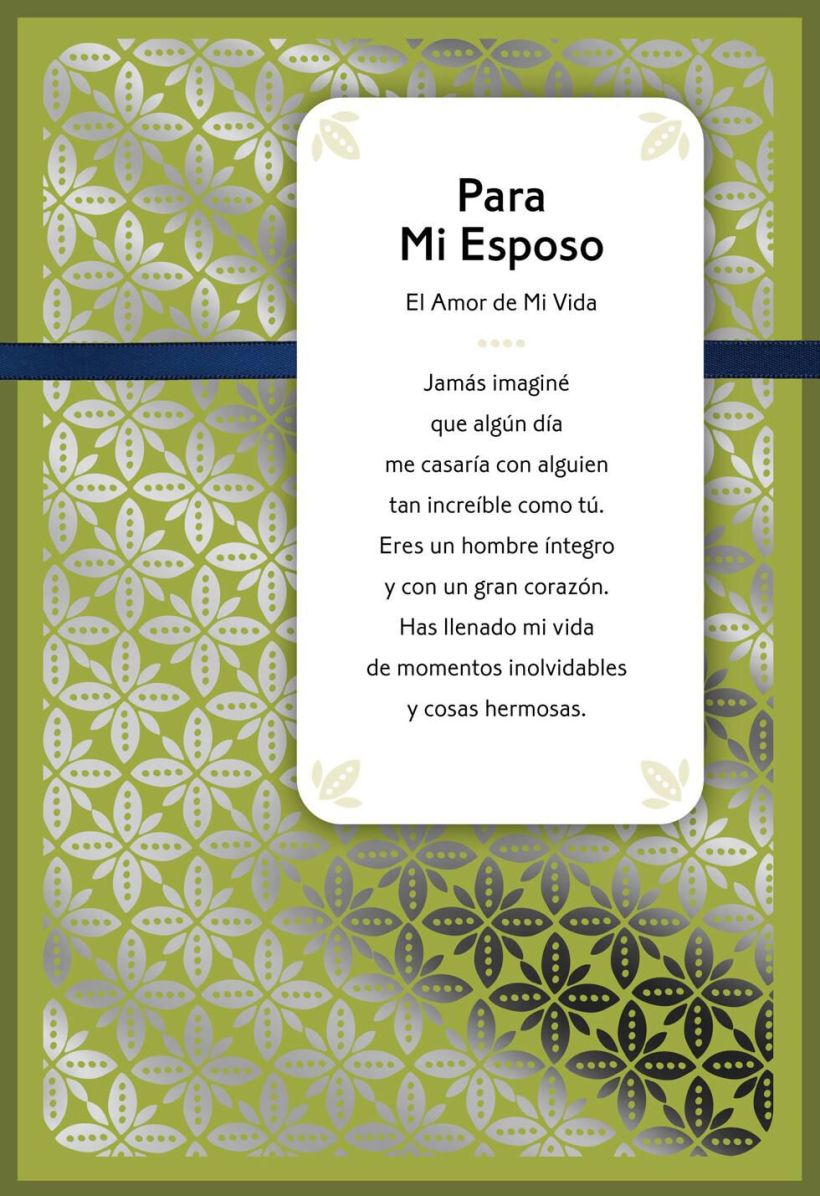 For My Husband Love Of Life Spanish Language Birthday Card